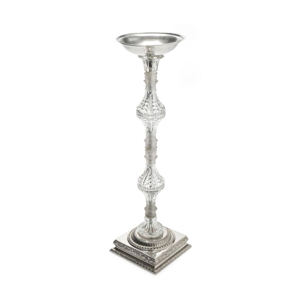 29-crystal-pedestal-with-silver-base