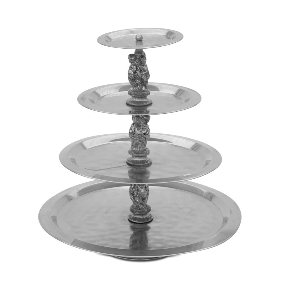 4-tier-stainless-cherub-tray