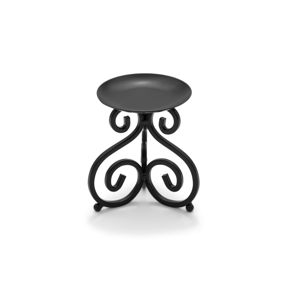 5-black-scroll-pillar-candle-holder