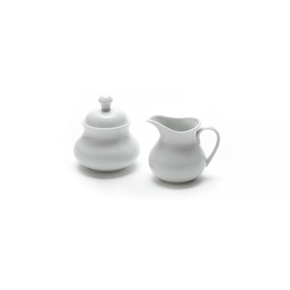 white-creamer-sugar-w-lid-set