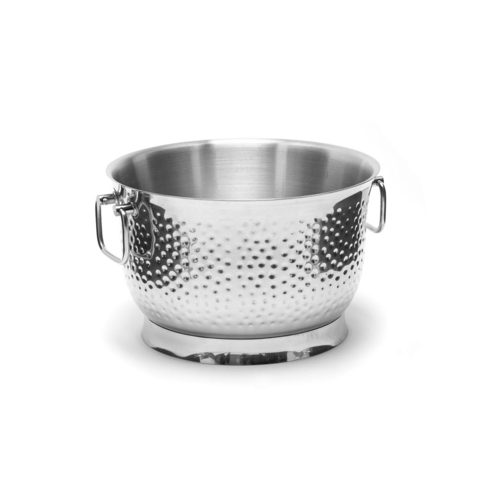 beverage-tub-hammered-stainless