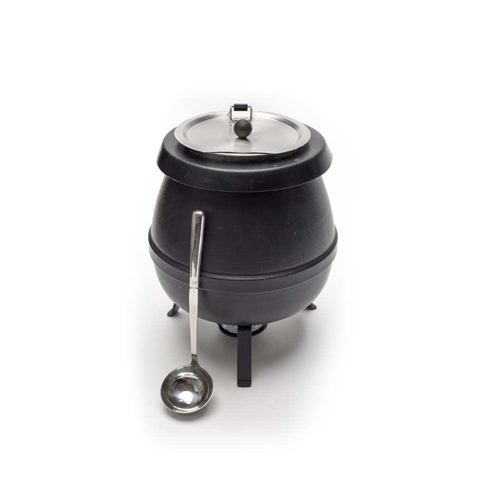 black-soup-kettle-with-ladle-fuel
