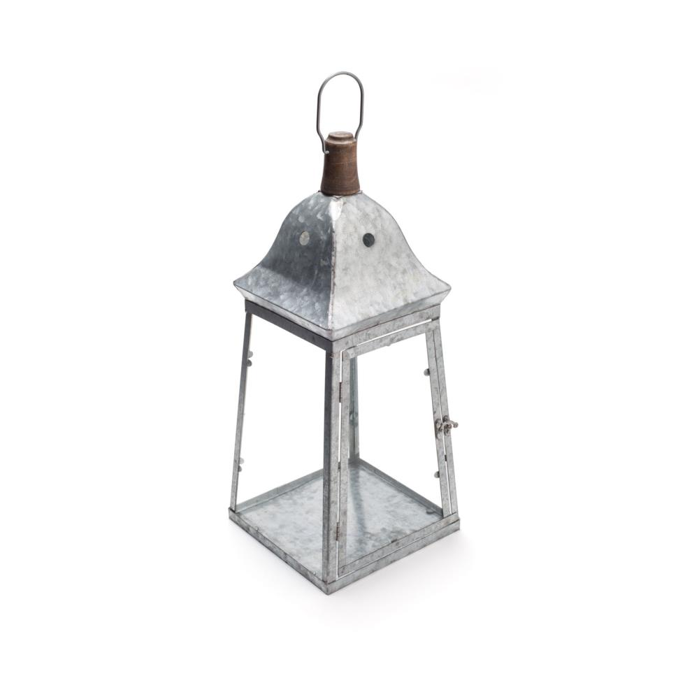 galvanized-metal-lantern