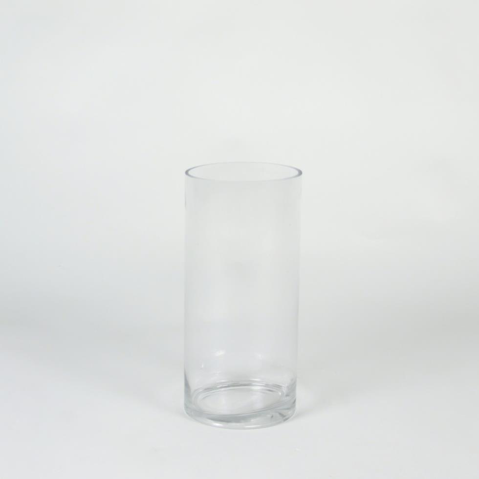 auckland glass envy medium cylinder events vase wedding hire product