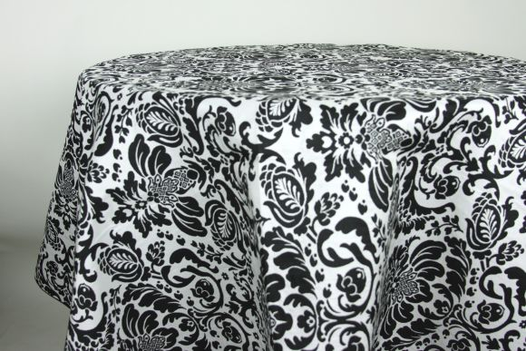 black-white-damask