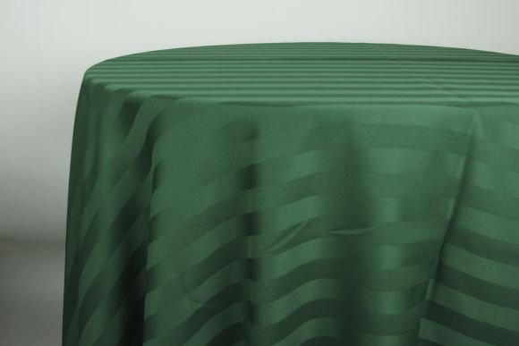 hunter-green-satin-stripe