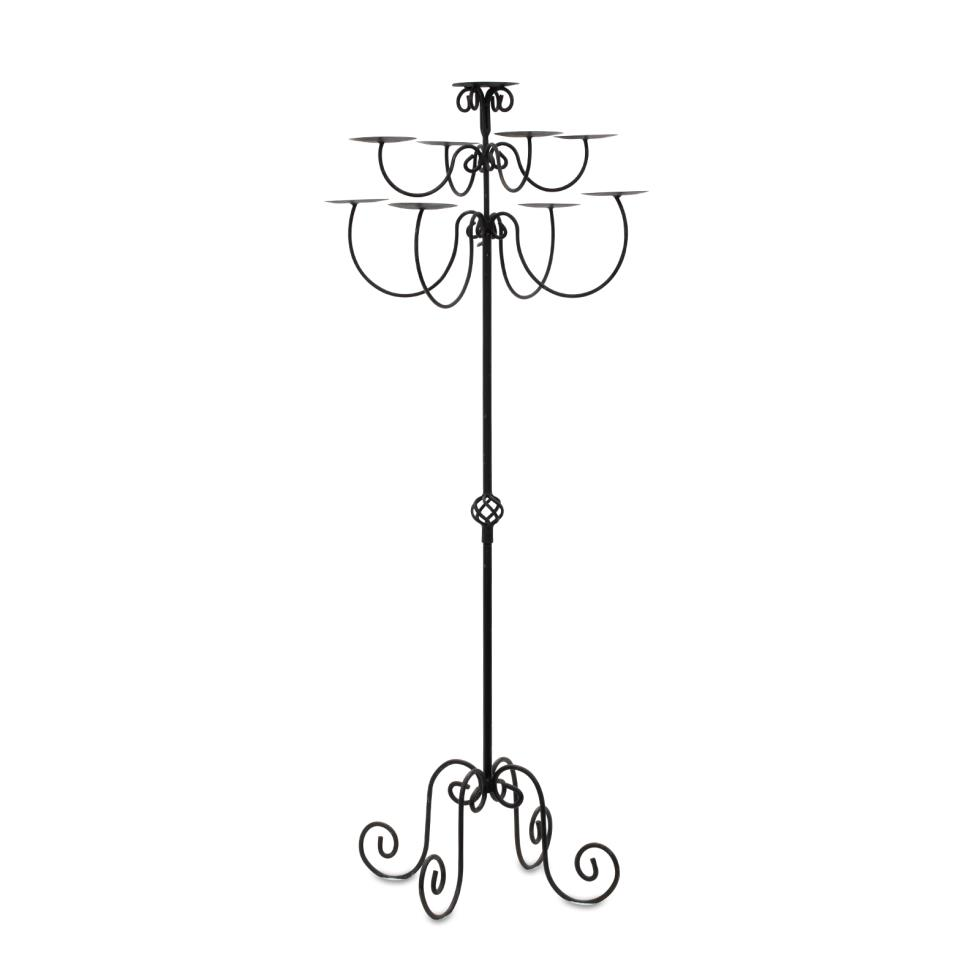 9-light-wrought-iron-candelabra