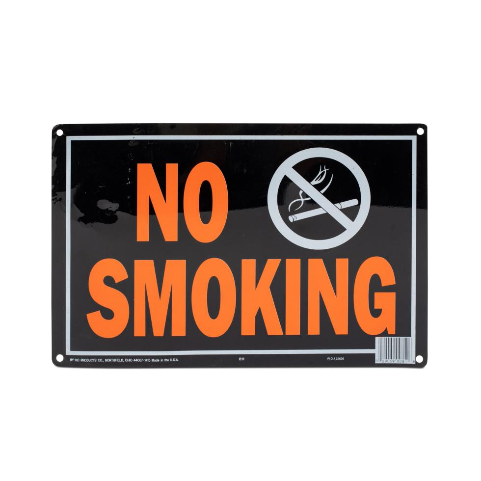 no-smoking-signage