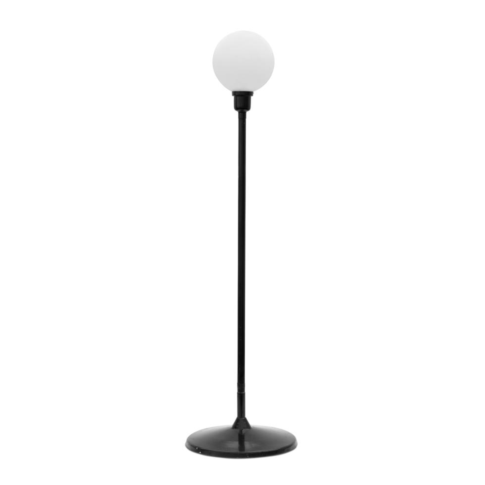 black-party-lamp-on-pole