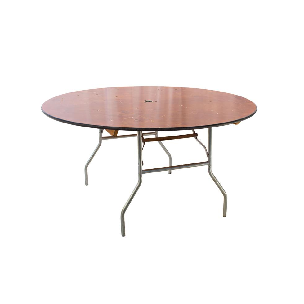 Baker party rentals 60 round table rentals for Table rentals