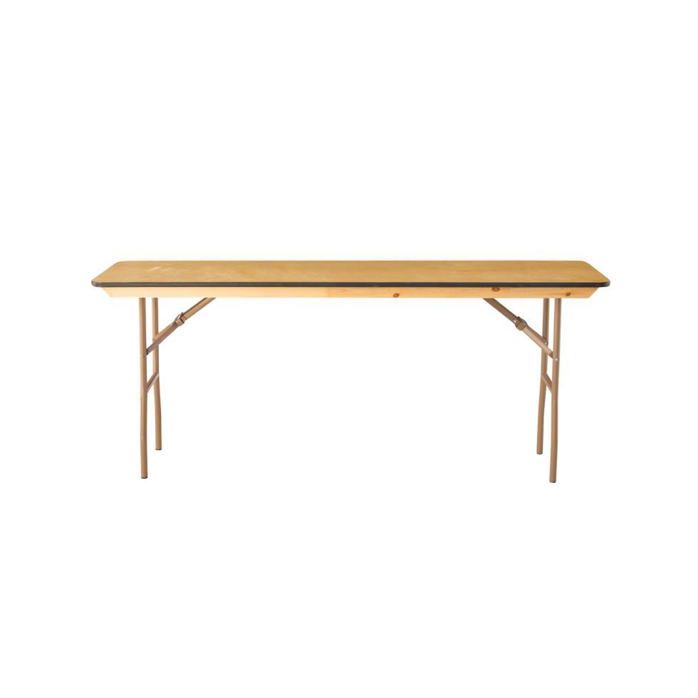 Baker party rentals 6 39 x18 classroom table rentals for Table rentals
