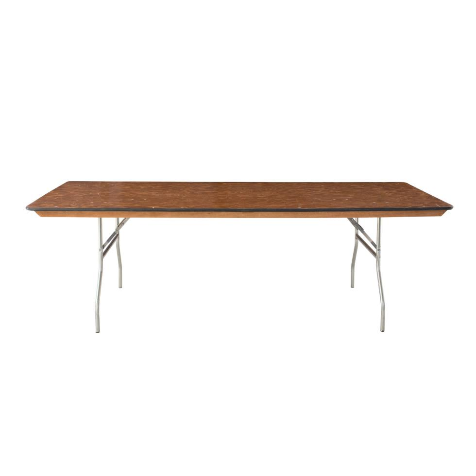 Baker party rentals 8 39 x 42 wide dining table rentals for Wide dining table