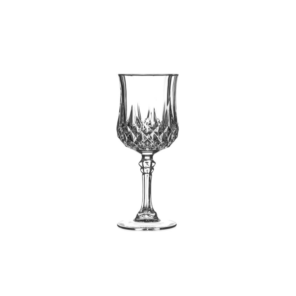 Baker party rentals 8 oz crystal wine glass rentals Big w wine glasses